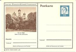 Bildpostkart Mint   Isny Im Allgau, Schon Zu Allen Jahreszeiten - Kerken En Kathedralen