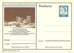 Bildpostkart Mint  Marl (Kreis Recklinghausen) Modell Rathaus Rotterdamer Architekten Broek Und Bakema - Architectuur