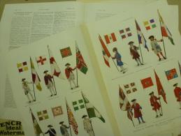 Les HABITS Et Les DRAPEAUX Des REGIMENTS COLONIAUX De L'ANCIENNE FRANCE - Vieux Papiers