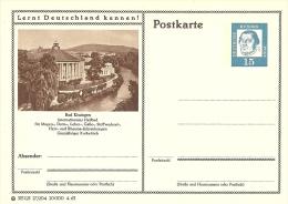 Bildpostkart Mint Bad Kissingen Intern. Heilbad Fur Magen-, Darmen-, Leber-, Galle-, Stoffwechsel, Herz, Rheuma - Kuurwezen