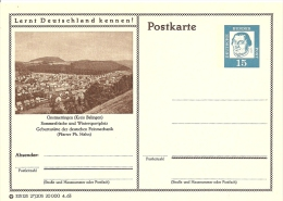 Bildpostkart Mint Onstmettingen (Kreis Balingen), Geburtsstatte Der Deutchen Feinmechanik (Pfarrer Ph. Hahn) - Vakantie & Toerisme