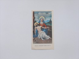 SANTINI/SANTINO - BEATA VERGINE ADDOLORATA - ORAZIONE - Images Religieuses