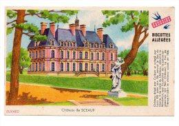 Buvard - Biscottes Allégées Grégoire - Château De Sceaux - Zwieback