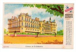 Buvard - Biscottes Allégées Grégoire - Château De Saint Germain - Zwieback
