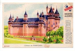 Buvard - Biscottes Allégées Grégoire - Château De Pierrefonds - Zwieback