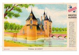 Buvard - Biscottes Allégées Grégoire - Château De Lassay - Zwieback