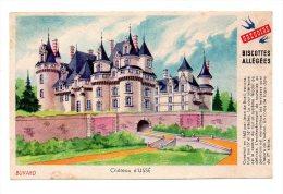 Buvard - Biscottes Allégées Grégoire - Château D'Ussé - Zwieback
