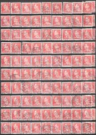 DENMARK # STAMPS FROM YEAR 1967 (Stamping, Cities, And Study) - Lotes & Colecciones
