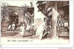 TUNIS PORTE BAB-DJEDID ,PERSONNAGES, COMMERCE,DETAILS REF 15070 - Tunesien