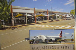 AEROPORT / AIRPORT / FLUGHAFEN      ALICE SPRING  AUSTRALIAN  A2IRPORT - Aerodrome
