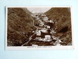 Carte Postale Ancienne : SAINTE-HELENE , St HELENA : Jamestown Looking North - Sainte-Hélène