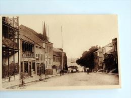 Carte Postale Ancienne : SAINTE-HELENE , St HELENA : Jamestown Main Street - Saint Helena Island