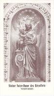 Religion Et Esotérisme-Image Religieuse-Prière  à Notre-Dame Des Récollets à Verviers-Imprimatur-1963 - Religion & Esotericism