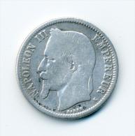 1 Franc Napoleon III 1867 K (bordeaux) - H. 1 Franc