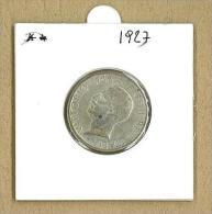 NUMISMATICA - 5 LIRE  - AQUILOTTO - ANNO 1927  - ITALIA REGNO - QUALITA' SPL - 1900-1946 : Vittorio Emanuele III & Umberto II
