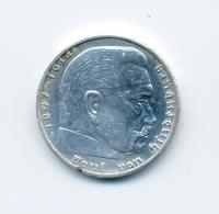 Allemagne 2 Mark 1939 - [ 4] 1933-1945 : Troisième Reich