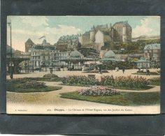 DIEPPE  CHATEAU ET HOTEL REGINA   CIRC  OUI   / 1913   EDIT - Dieppe