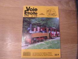 VOIE ETROITE N° 119 Revue APPEVA Train Tram Autorail Chemins De Fer Tramways Vendée 1940 1944 Rumelange - Ferrocarril & Tranvías