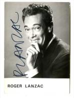 92 - AUTOGRAPHE ROGER LANZAC - Autographes