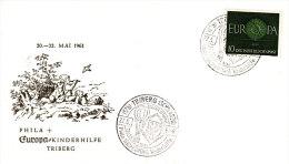 FDC  EUROPA   1961 - Europa-CEPT
