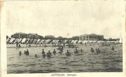 Cattolica(Rimini)-Spiaggia-1929 - Rimini