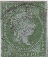 01885 España Edifil 39 O Cat. Eur. 200,- - 1850-68 Reino: Isabel II