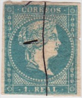 01887 España Edifil 45 O Cat. Eur. 275,- - 1850-68 Reino: Isabel II