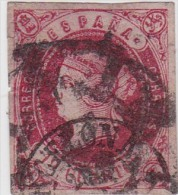 01890 España Edifil 60 O Cat. Eur. 345,- - 1850-68 Reino: Isabel II