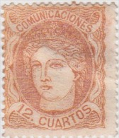 01896 España Edifil 113 (*) Cat. Eur.408,- OCASIÓN - 1868-70 Gobierno Provisional