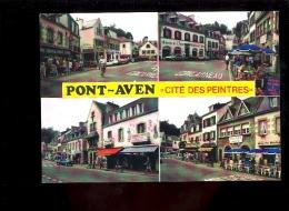 PONT AVEN Finistère 29 : Cité Des Peintres / Galerie Du Pont De L'Aven Segalen Fabrique De Poupées Citroen BX - Pont Aven