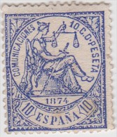01903 España Edifil 145 (*) Cat. Eur. 19,- - 1873 1. Republik