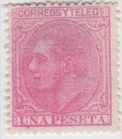 01910 España Edifil 207 (*) Cat. Eur. 188,- - 1875-1882 Reino: Alfonso XII
