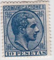 01912 España Edifil 199 A * , Valor Catalogo Aproximado  Eur. 710,- OCASIÓN - 1875-1882 Reino: Alfonso XII