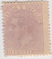 01913 España Edifil 211 * Cat. Eur. 460,- - 1875-1882 Regno: Alfonso XII