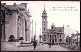 Exposition De BRUXELLES 1910 - Pavillon De La Ville De Bruxelles - Chocolat HARDY -  Non Circulé - Not Circulated. - Expositions
