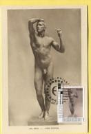 Maximum  Card Maximumkaart Carte Maximum  Nude Rodin - Sculpture