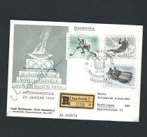 ÖSTERREICH 1964***WINTER - OLYMPIADE INNSBRUCK***SCHÖNER R - BRIEF - Winter 1964: Innsbruck