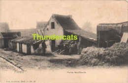 CPA  FOREST VORST FERME WAEFFLAERTS NELS SERIE 11 NO 80 - Vorst - Forest