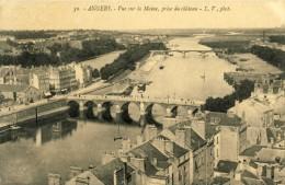 49 CPA ANGERS - VUE SUR LA MAINE PRISE DU CHATEAU - Angers