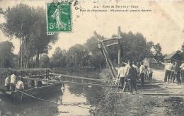 NORD PAS DE CALAIS - 62 - PAS DE CALAIS - ARRAS - Ecole De Pont Du 3ème Génie - Pont De Circonstance - Animation - Manovre