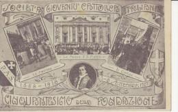 Società Gioventù Cattolica. Cinquantesimo Della Fondazione.Illustratore Poggi - Non Classificati