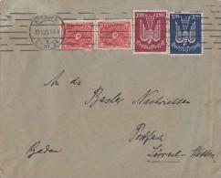 DR Brief Mif Minr.2x 206,216,217 Dresden 13.1.23 - Allemagne