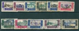 Spanish Morocco 1948 Edifil 280-90 Used - Maroc Espagnol