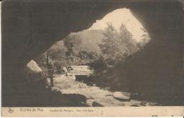 BELGIUM  1922– POSTCARD – HAN-SUR-LESSE – GROTTES DE HAN –GOUFFRE DE BELVAUX MAILED TO FRANCE W 1 ST OF 3C  POSTM MELL… - Ham