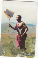 SWAZILAND(chip) - Mail Runner Service, Exp.date 03/01, Used - Swaziland