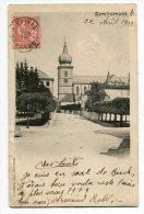 Réf 191 - REMIREMONT - L'église (CARTE PIONNIERE De 1903 - Scan Du Verso) - Remiremont