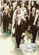 GERMANY BERLIN FDC FDI 1984 E KLAUSENER MURDERED IN NAZI PURGE NIGHT LONG KNIVES MAXI MAXIMUM CARD CARTE CATHOLIC - History