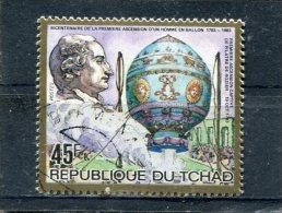 CHAD. 1983. SCOTT 449. CAPTIVE BALLOON, PILATRE DE ROSIERS - Tchad (1960-...)