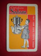"""- JEU DE CARTE (32) PUBLICITAIRE """"CAFETIERE SALAM"""" - - Jeux De Société"""