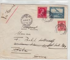 Bruxelles To Bale ( Suisse )  Feldpost 1940 Mittente Sconosciuto E Inviata A Basel - Belgium